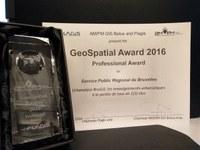Un GeoSpatial Award pour BruGIS