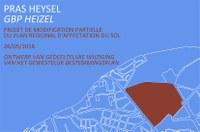 Openbaar onderzoek van de gedeeltelijke wijziging van het Gewestelijk Bestemmingsplan (GBP) voor het GGB Heizel