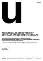 Vade-mecum voor het opstellen van een effectenverslag