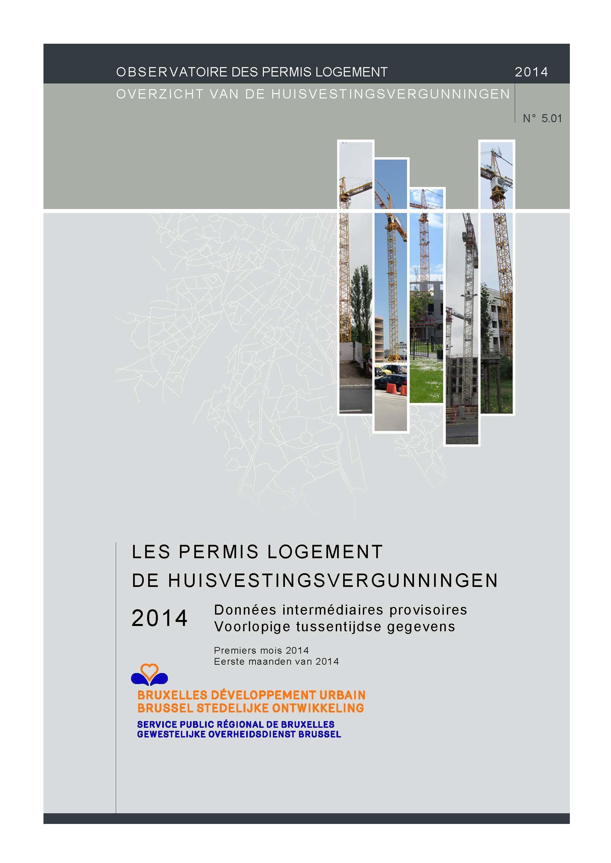 L'Observatoire des permis logement n°5.01